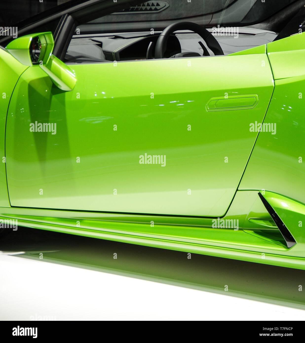 Lamborghini Rear View Stock Photos & Lamborghini Rear View
