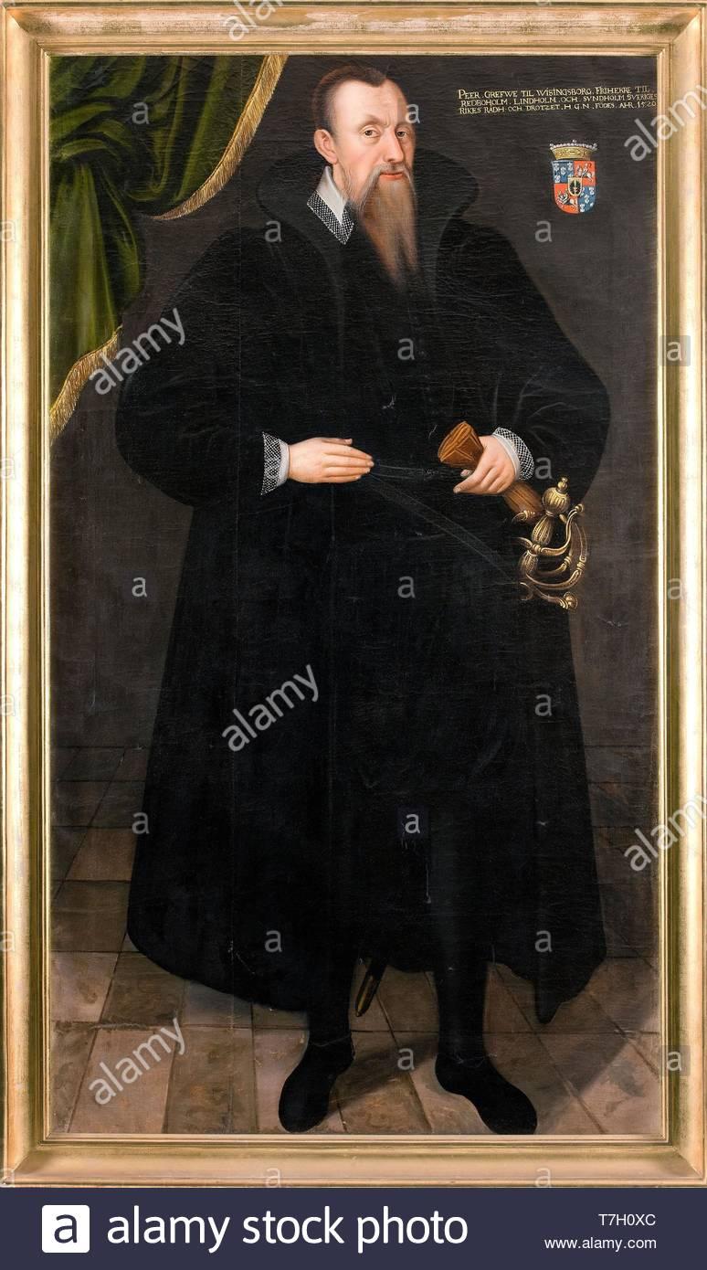Johan-Baptista-van-Uther-Per Brahe the Elder (1520 C 90) - Stock Image