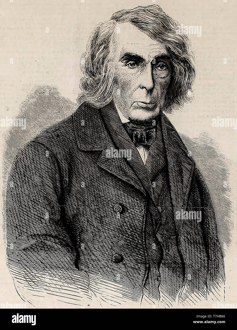 Honorable Roger B Taney, Chief Justice of the American Supreme Court (1836-1864) - Stock Image