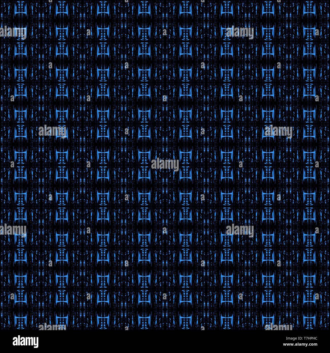 tileable pattern with royal blue
