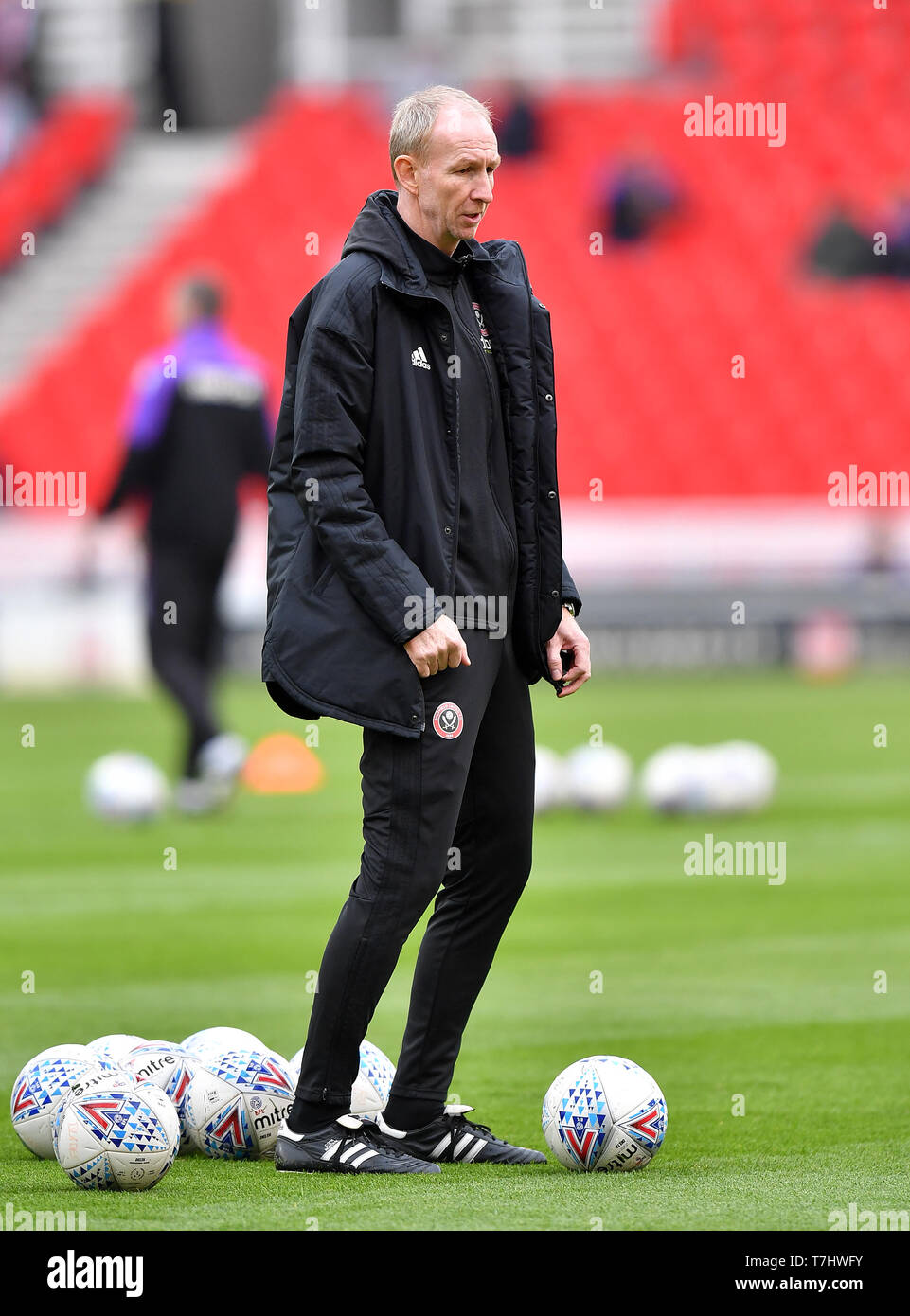 Sheffield United assistant manager Alan Knill - Stock Image