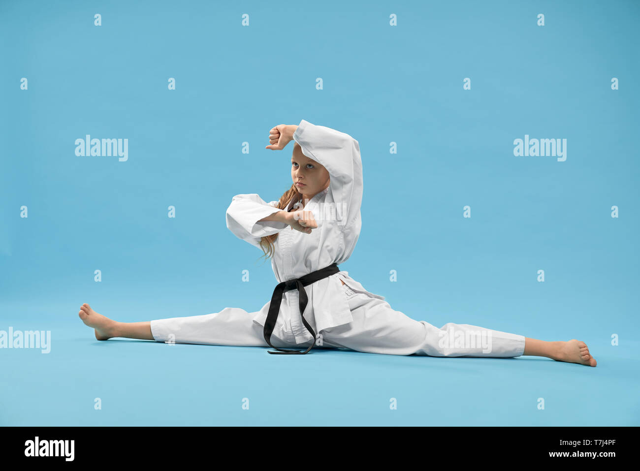 Karate Girl High Resolution Stock Photography And Images Alamy