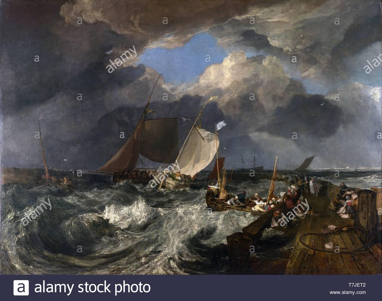Joseph-Mallord-William-Turner-British painter and printmaker - Stock Image