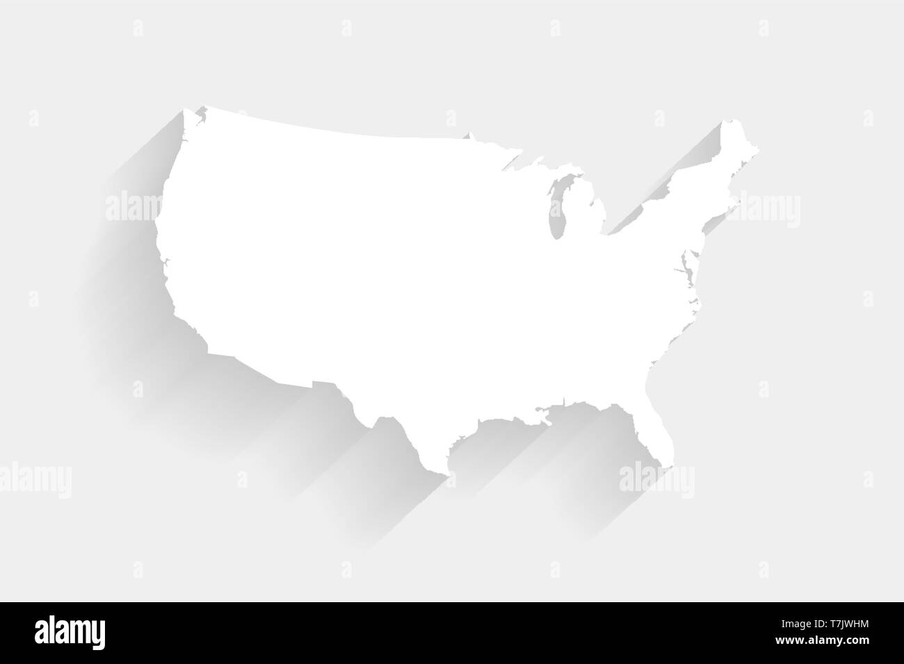 Simple white United States map on gray background, vector ... on uganda map gray, europe map gray, philippines map gray, florida map gray, world map gray, canada map gray, singapore map gray, colombia map gray, puerto rico map gray, oceania map gray, virginia map gray, south africa map gray, kazakhstan map gray, chile map gray, middle east map gray, massachusetts map gray, atlantic ocean map gray, latin america map gray, mexico map gray, asia map gray,