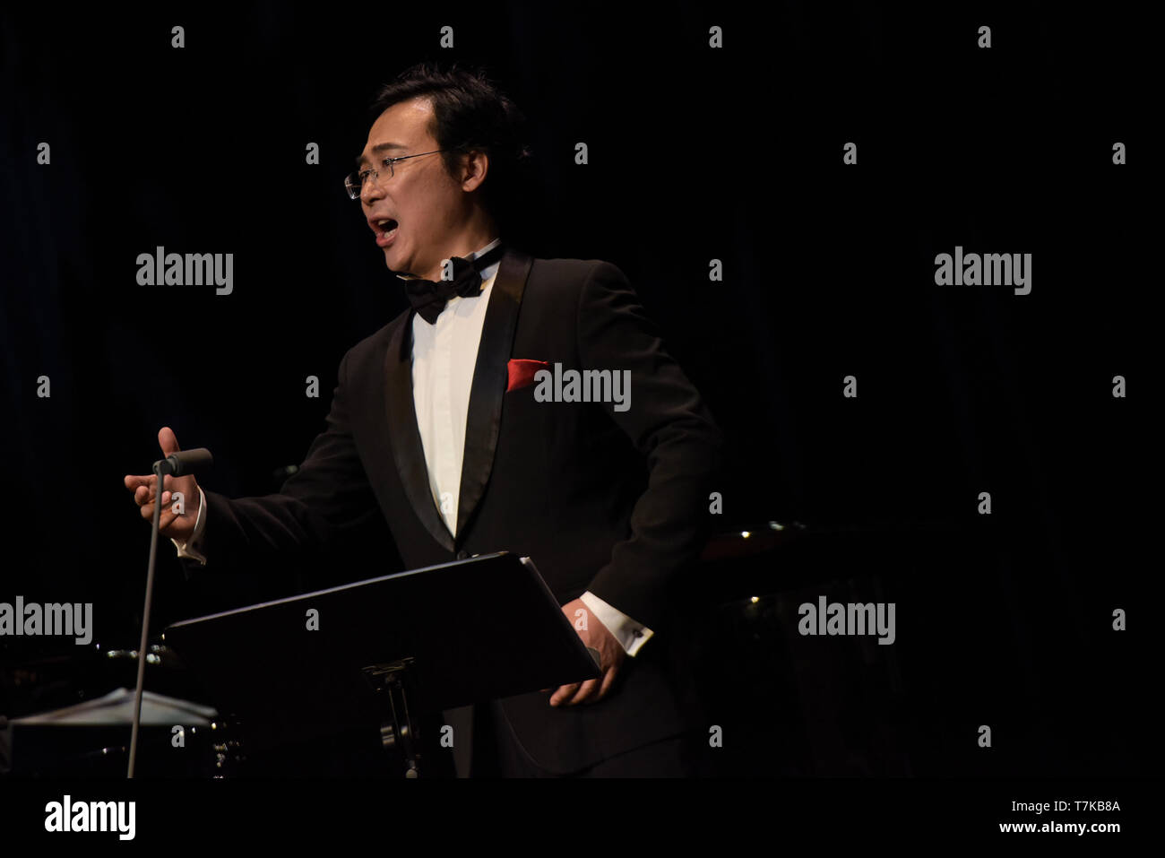 Vienna, Austria  7th May, 2019  Liao Changyong, a famous baritone