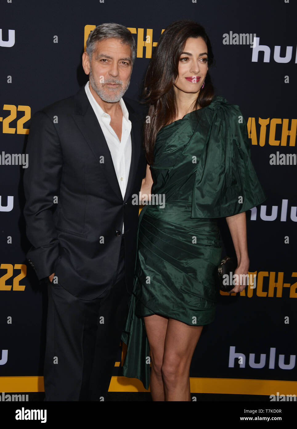 Los Angeles, USA  07th May, 2019  a George Clooney, Amal Clooney 006