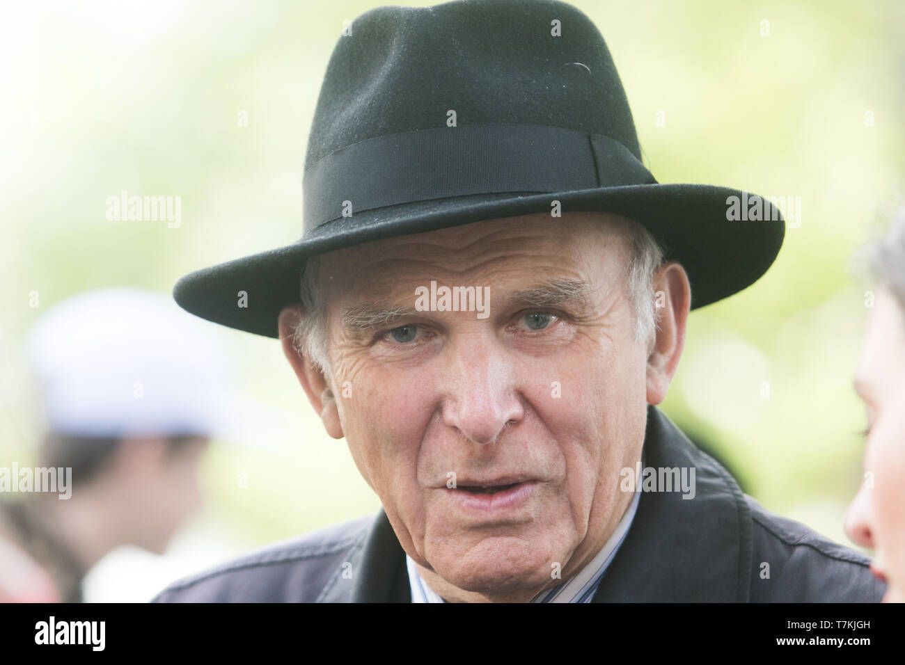 London, UK. 8th May, 2019. Liberal Democrats Party leader, Vince Cable MP for Twickenham seen in Westminster. Vince Cable is steadfastly a Pro Europe  Politician who has campaigned for Britain to stay in the European Union Credit: amer ghazzal/Alamy Live News Stock Photo