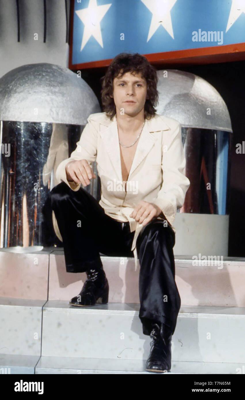 PAUL NICHOLAS English pop singer  about 1976 Stock Photo