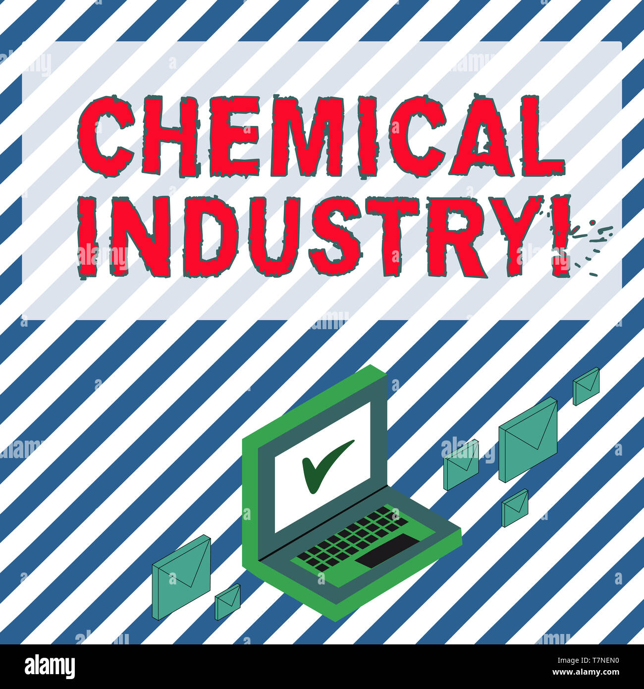 Word writing text Chemical Industry  Business photo showcasing