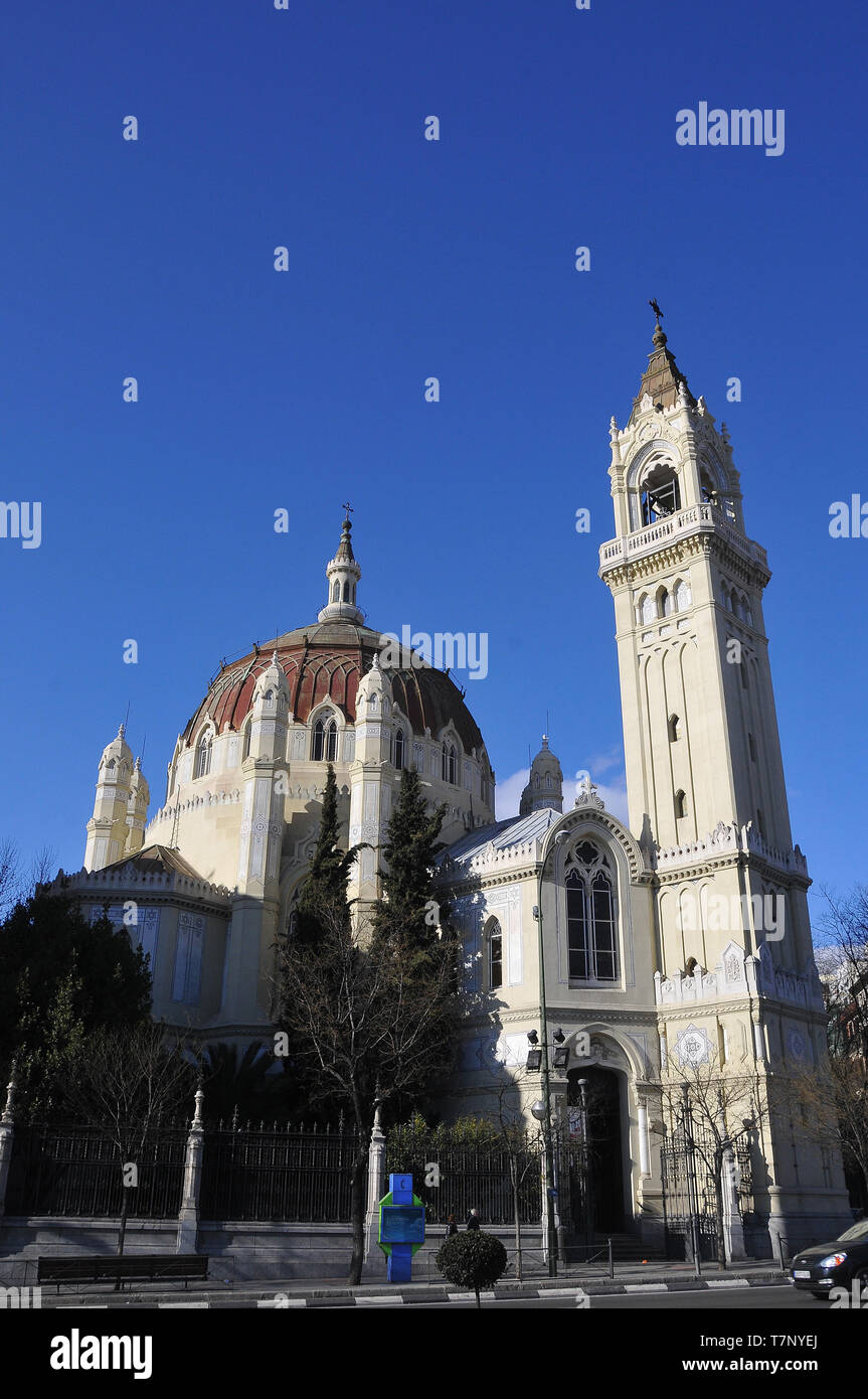 Church of San Manuel y San Benito, Iglesia de San Manuel y San Benito, Madrid, Spain - Stock Image