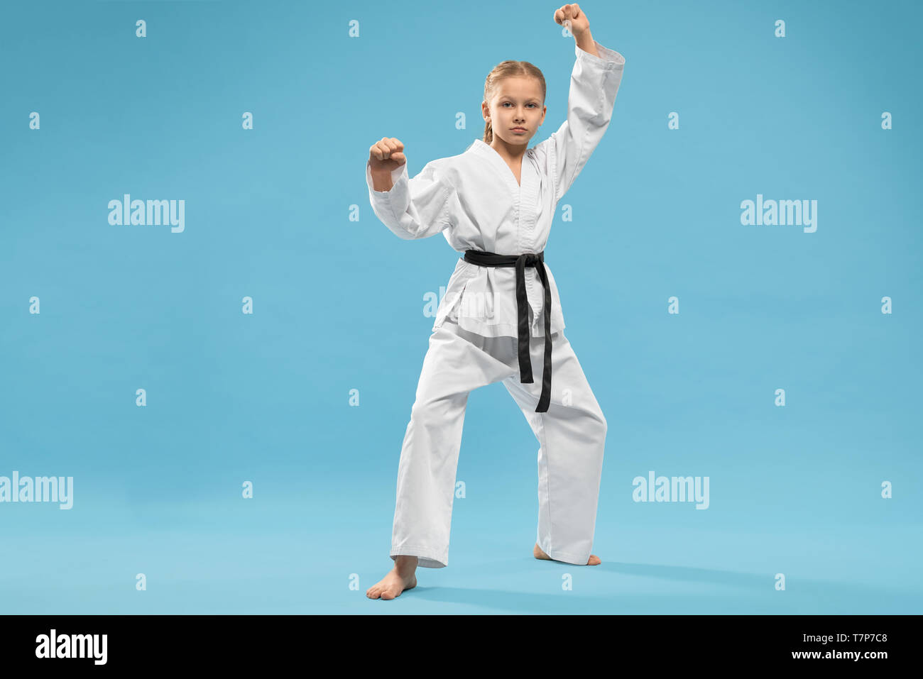 Karate Stance Front High Resolution Stock Photography And Images Alamy