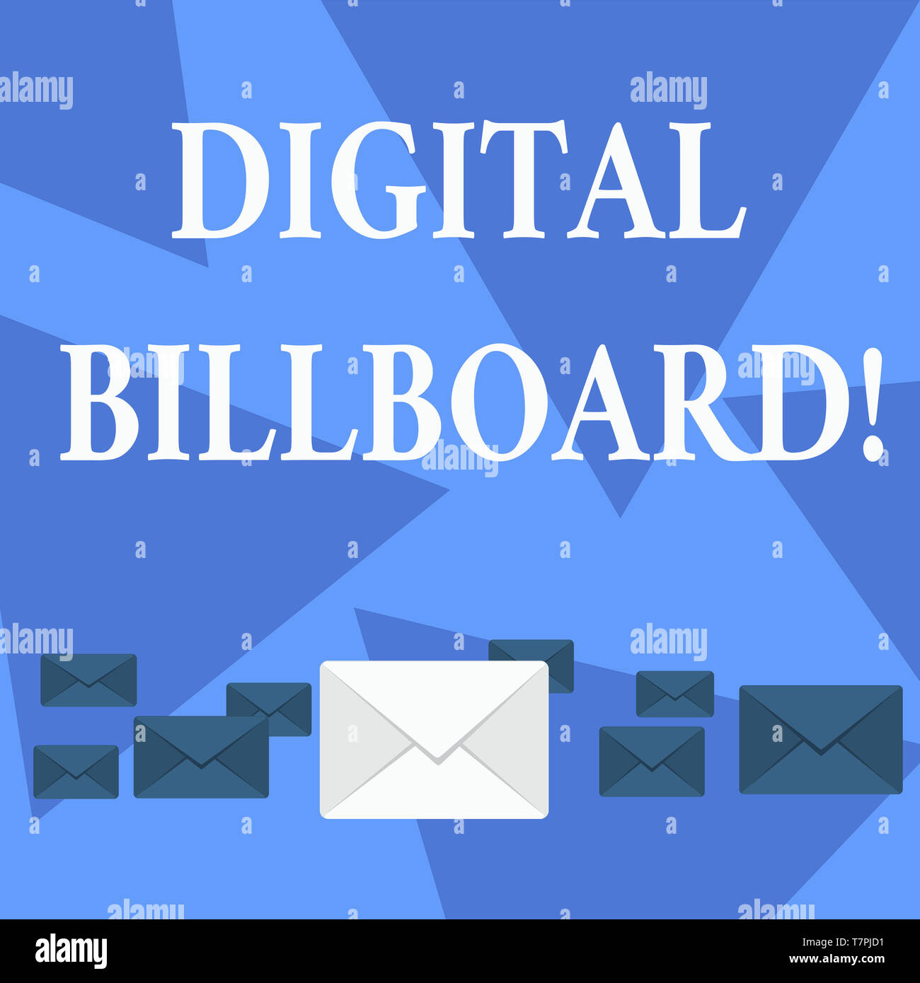 Writing note showing Digital Billboard  Business concept for