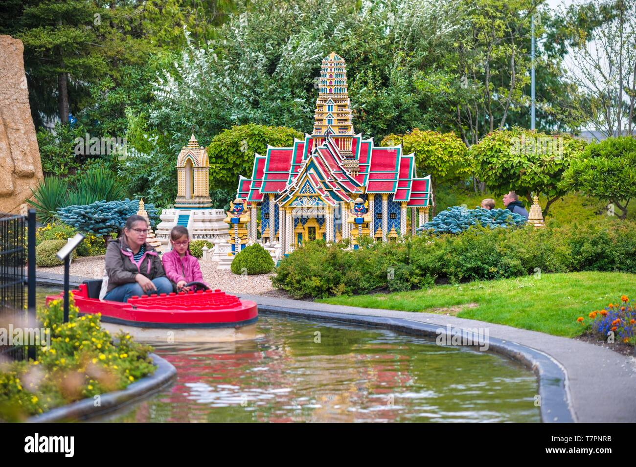 Denmark, Jutland, Billund, Legoland® Billund is the first