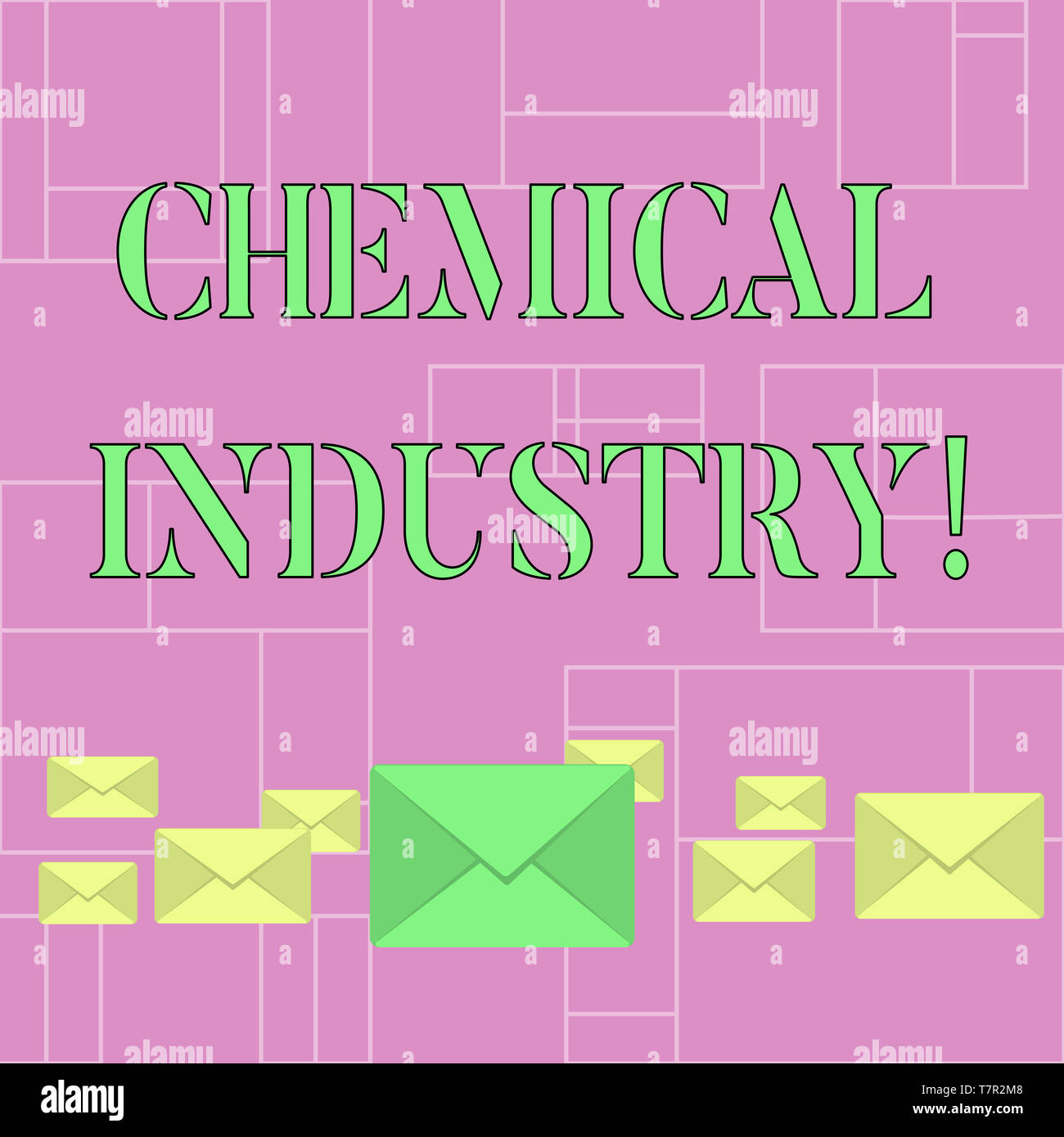 Conceptual hand writing showing Chemical Industry  Concept meaning