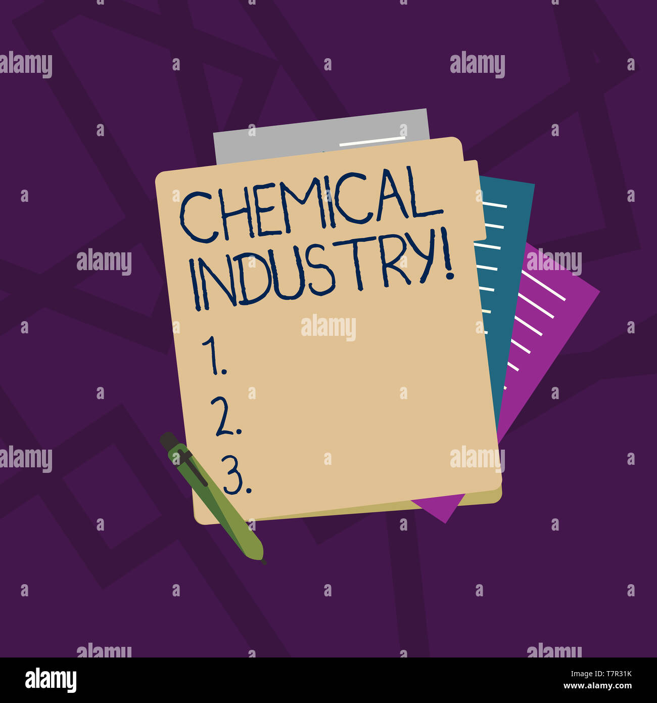 Produce industrial paper