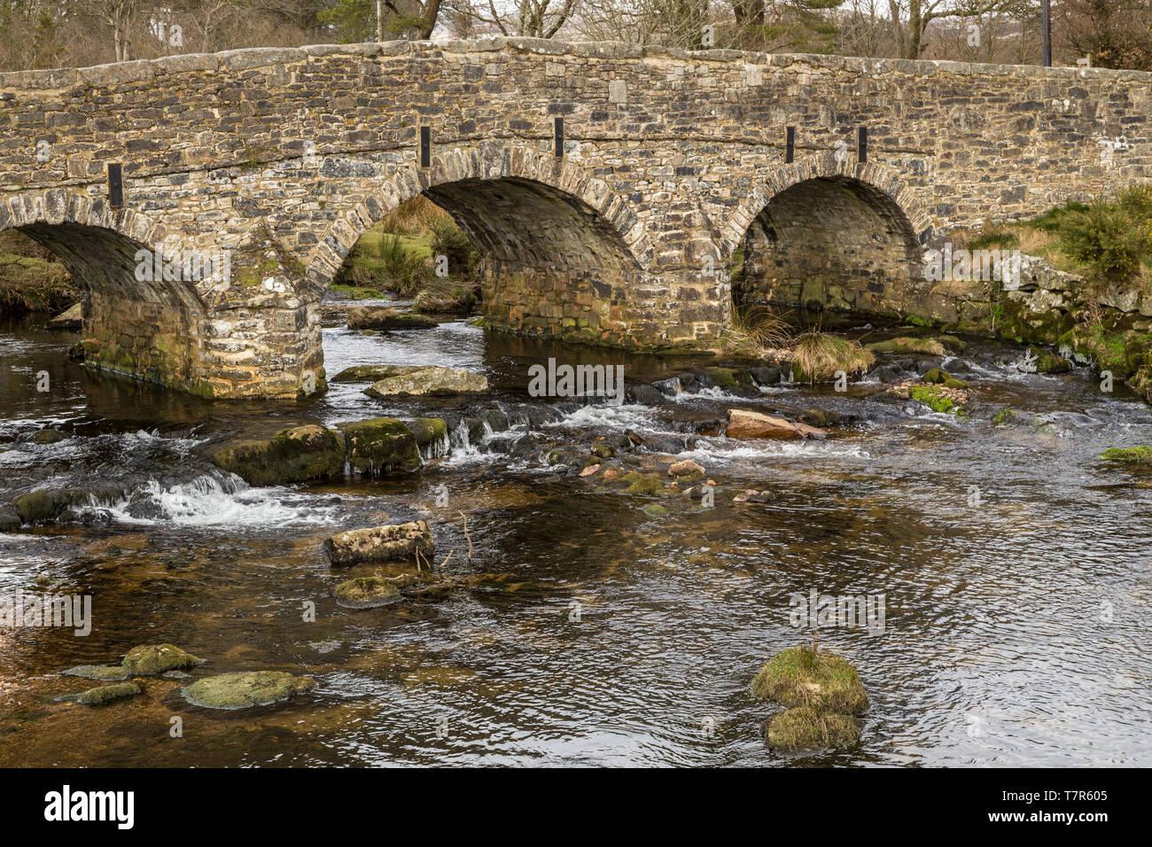 Medieval Bridge Arch Britain Stock Photos & Medieval Bridge Arch