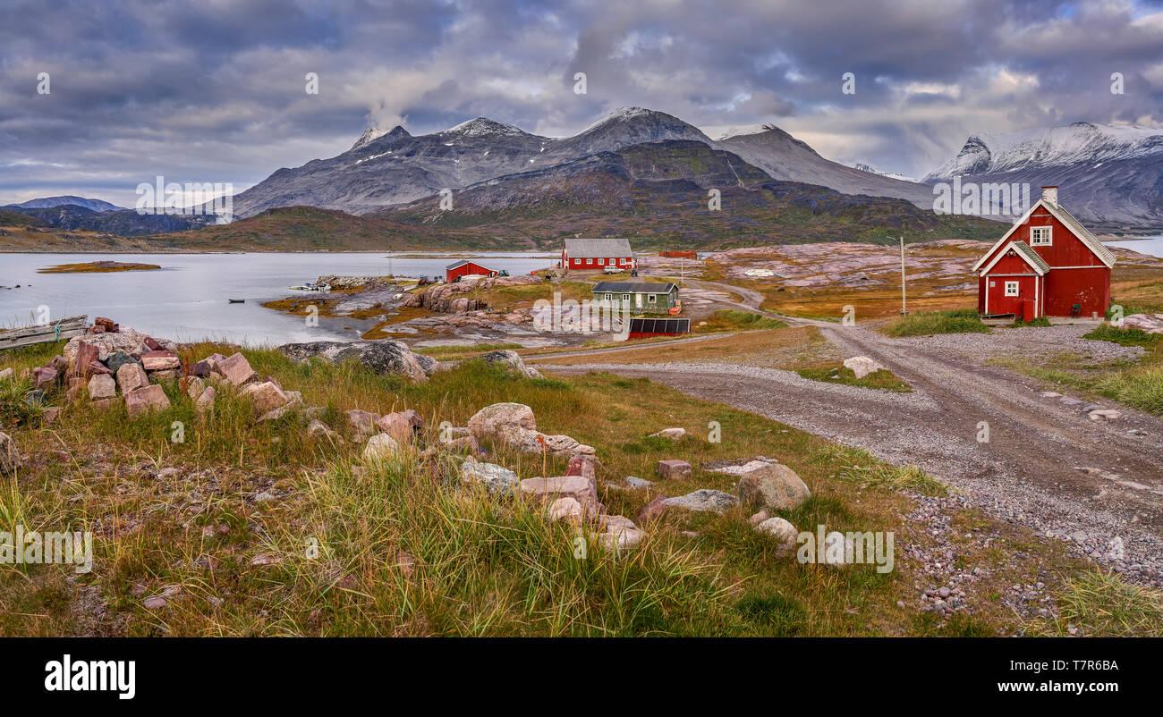 Igaliku, Greenland Stock Photo