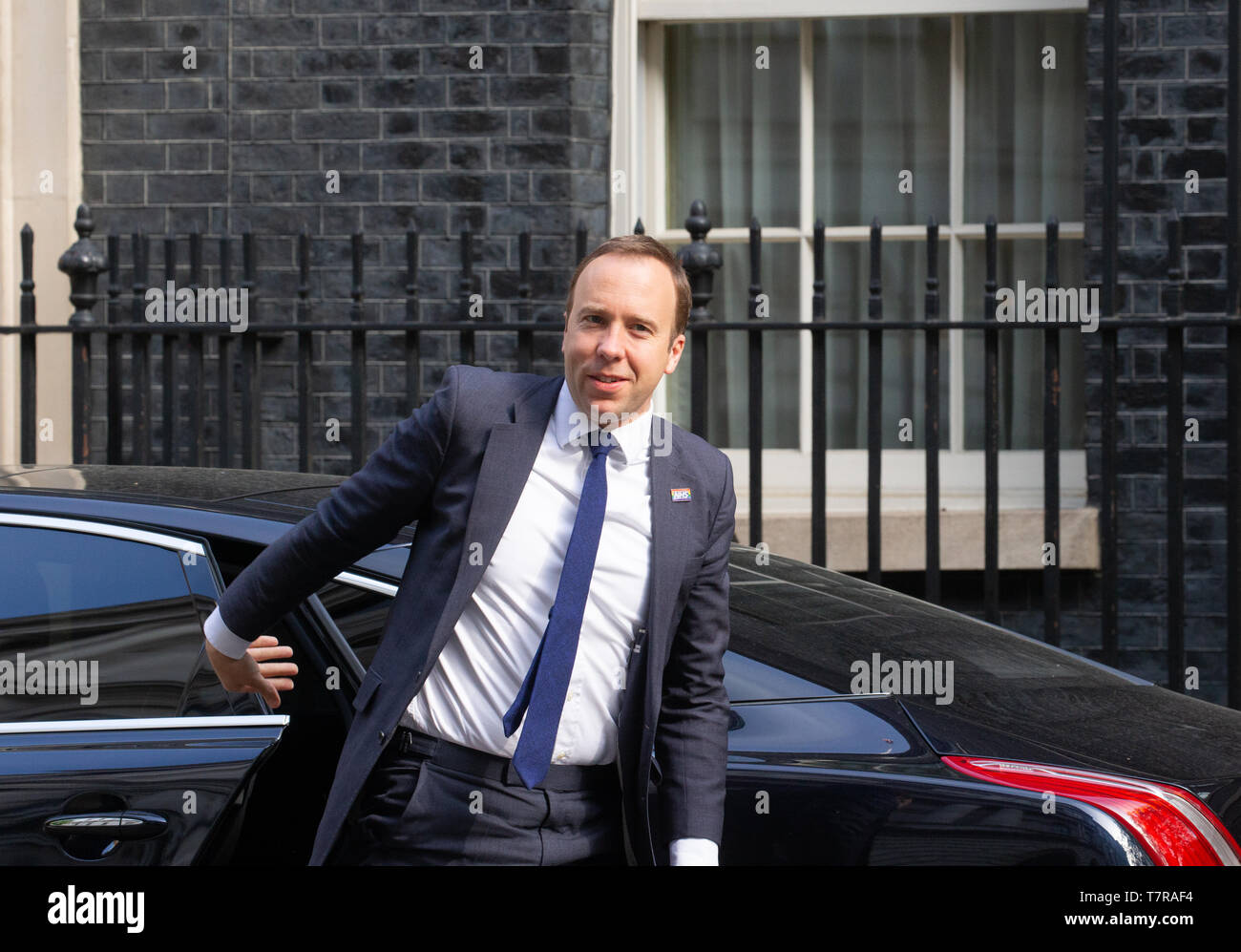 Matthew Hancock, Secretary of State for Health and Social Care, arrives at Downing Street for a Cabinet meeting. Stock Photo