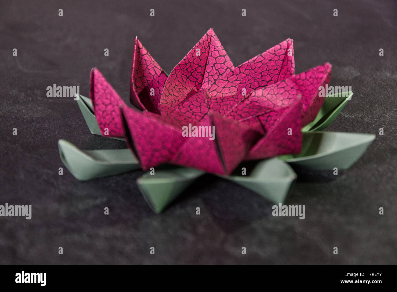 Origami Lotus Flower Easy Instructions - All About Craft | 957x1300