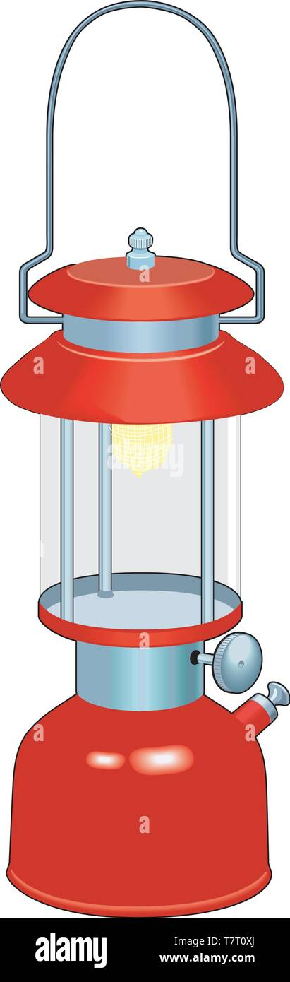 Lantern Vector Illustration - Stock Vector