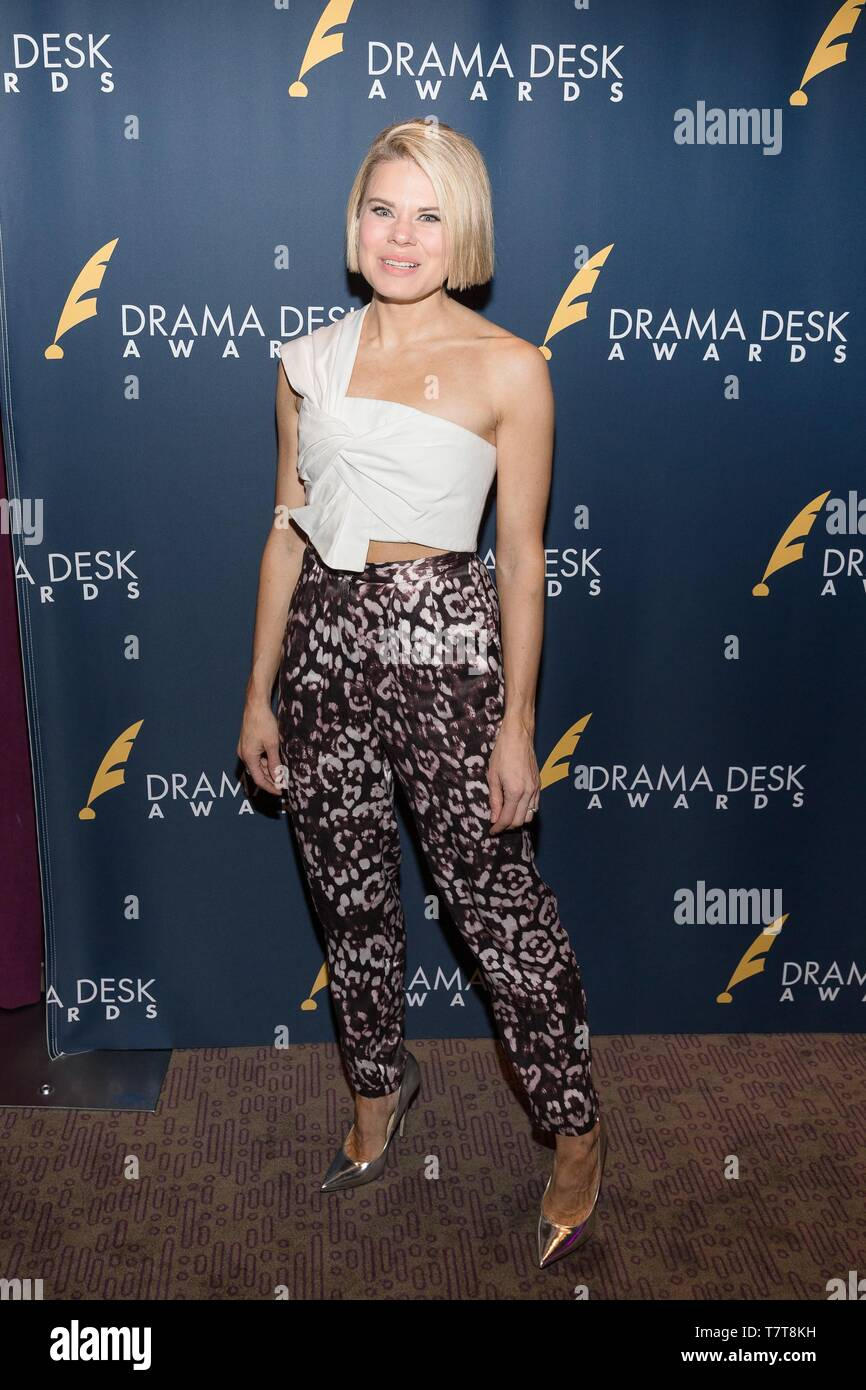 New York, NY, USA. 8th May, 2019. Celia Keenan-Bolger at arrivals for The 2019 Drama Desk Awards Nominees Reception, Green Room 42 at Yotel, New York, NY May 8, 2019. Credit: Everett Collection Inc/Alamy Live News - Stock Image