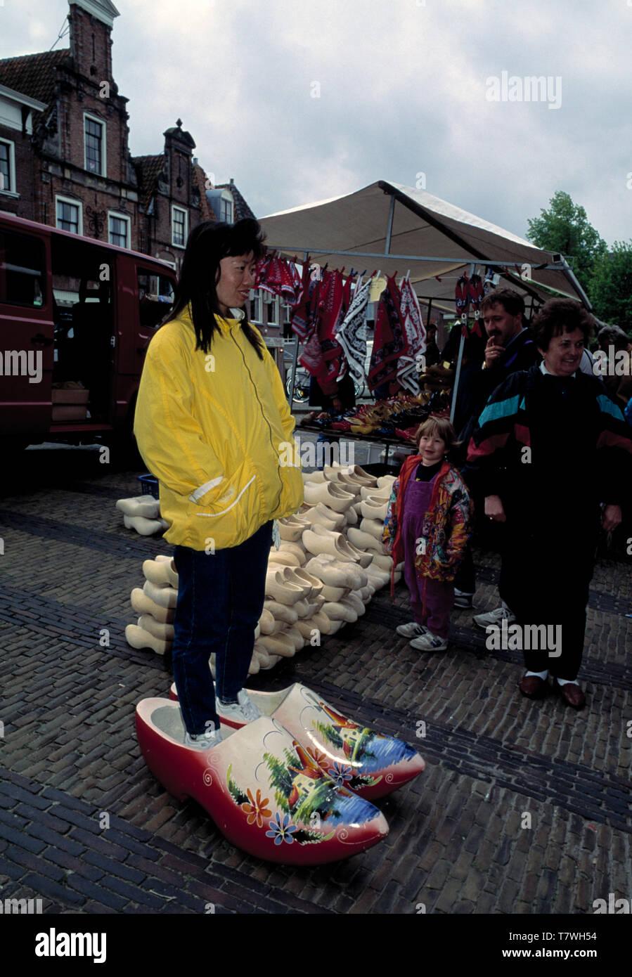alkmaar cheese festival, holland, netherlands - Stock Image