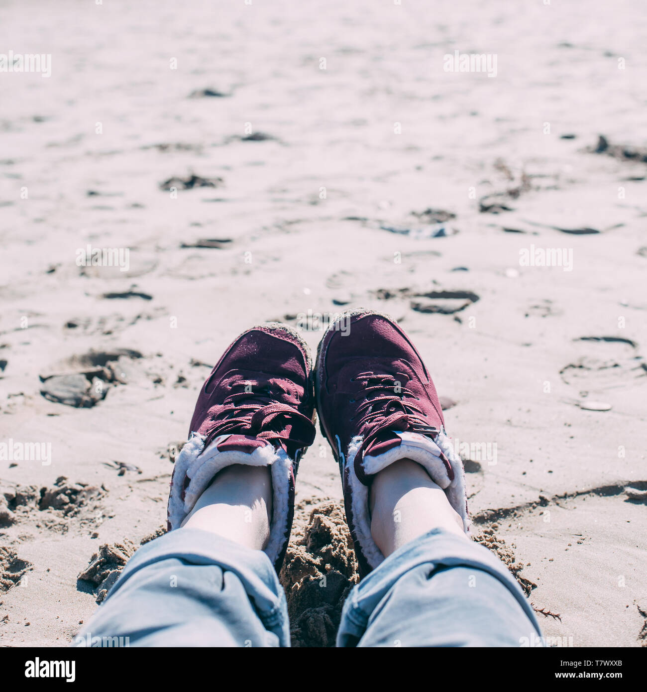 Relax On Beach Quotes High Resolution Stock Photography And Images Alamy