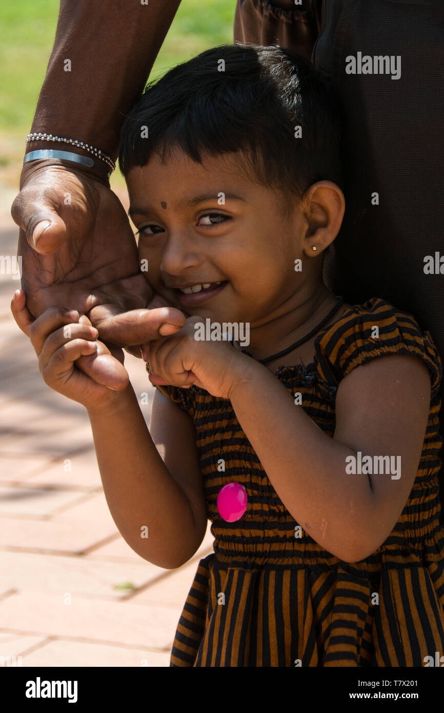 Young Sri Lanka Girl In The Garden High-Res Stock Photo