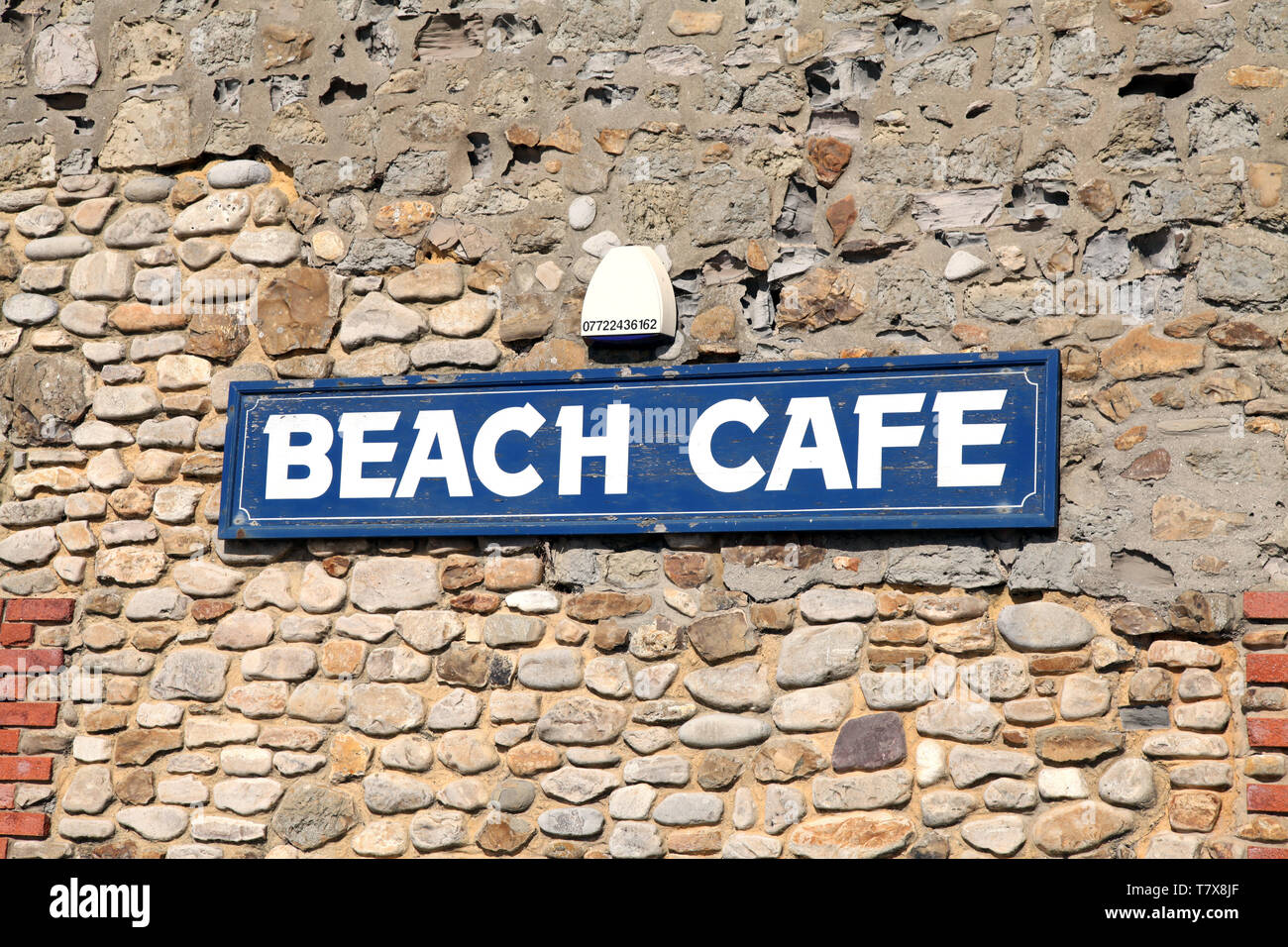Beach Cafe Sign High Resolution Stock Photography And Images Alamy