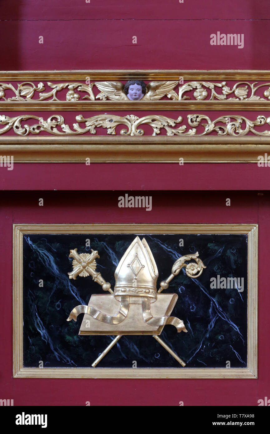 Saint Mitre High Resolution Stock Photography And Images Alamy