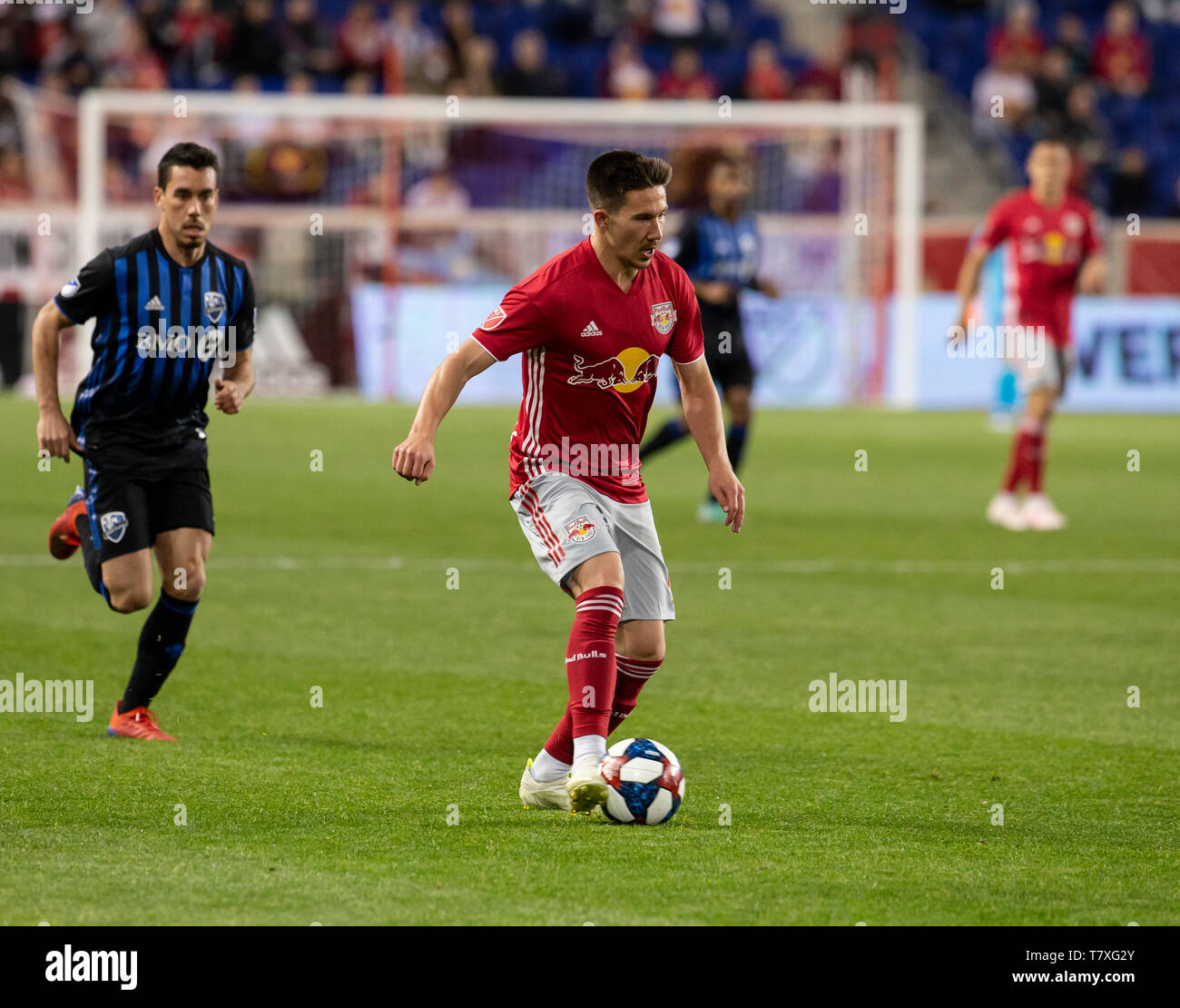 Harrison Nj May 8 2019 Alex Muyl 19 Of New York Red Bulls