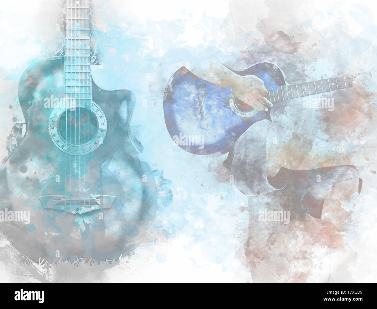 Abstract Acoustics Art