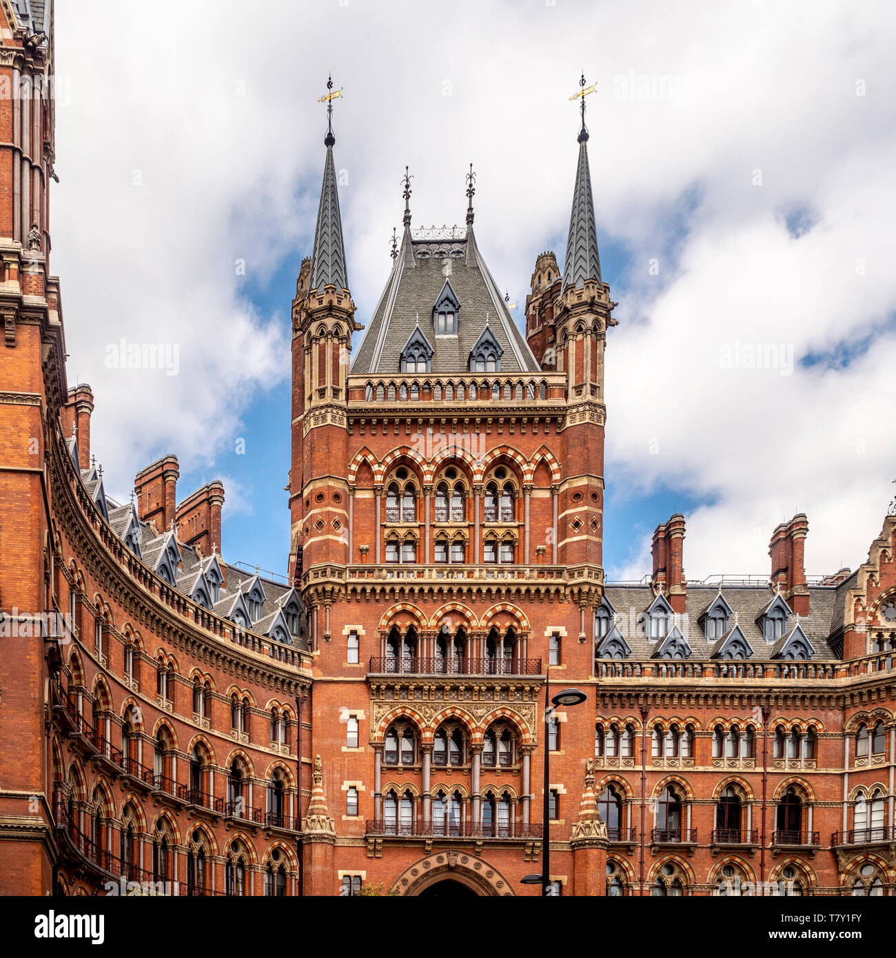 St. Pancras Renaissance Hotel, London, UK - Stock Image