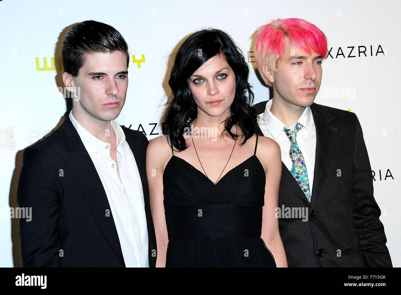New York, USA. 6 June, 2007. Greg. K, Leigh Lezark, Geordon Nicol at the Fifth Annual Art Party Celebrating The Whitney Museum Of American Art at The IFC Center. Credit: Steve Mack/Alamy - Stock Image