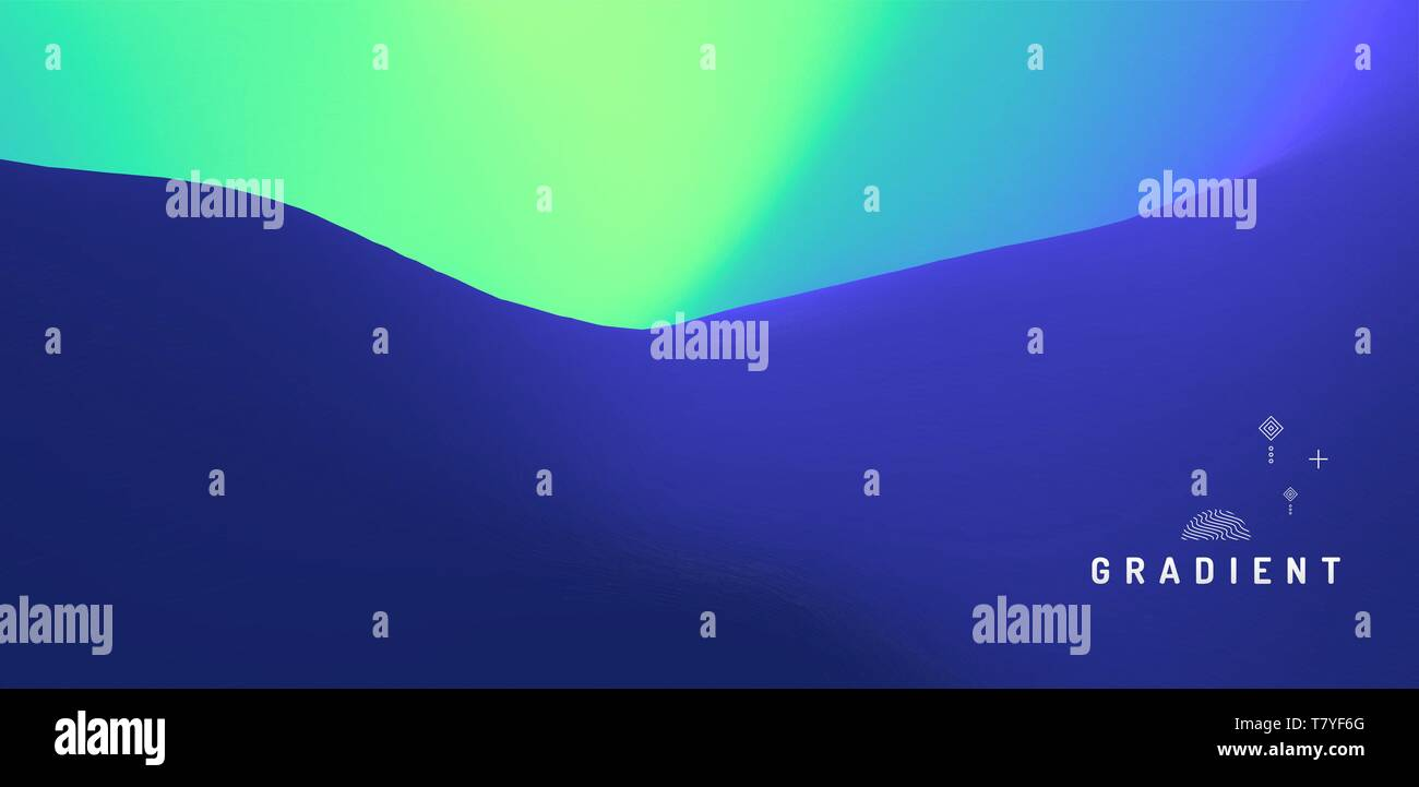 Abstract blurred background. Modern screen vector design for mobile app. Trendy gradients. - Stock Vector