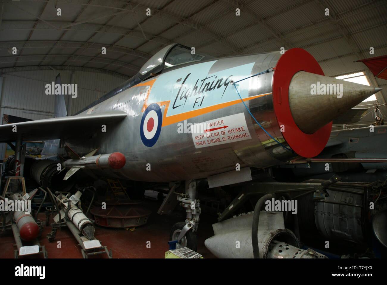 English Electric Lightning - Stock Image
