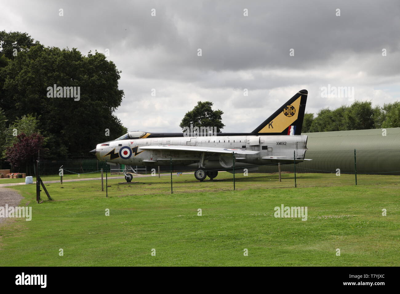 English Electric Lightning Stock Photo