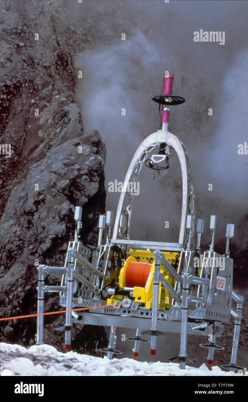 Dante 2 Volcano Robot - Stock Image