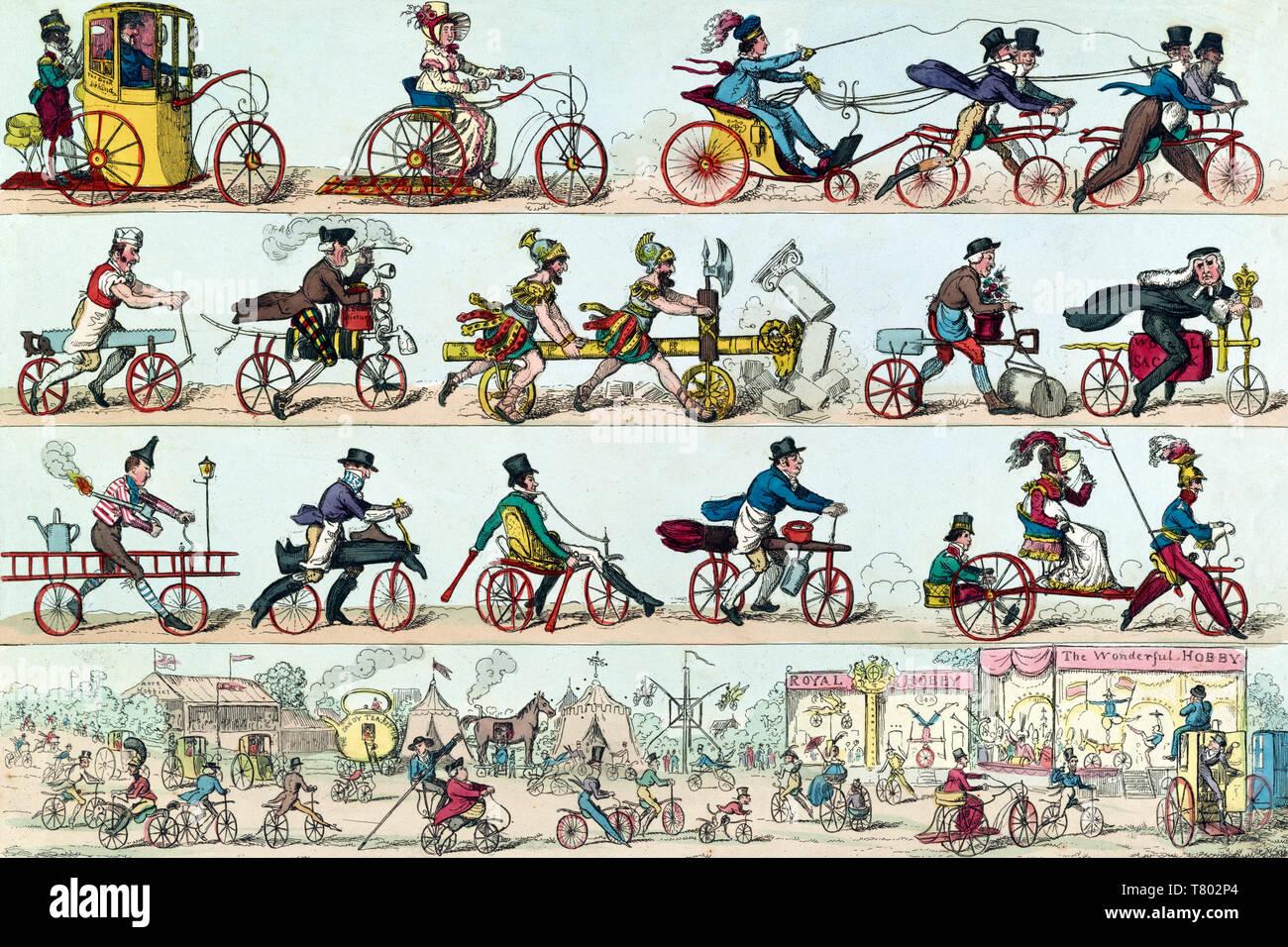Dandy Horse Fair, 1819 - Stock Image