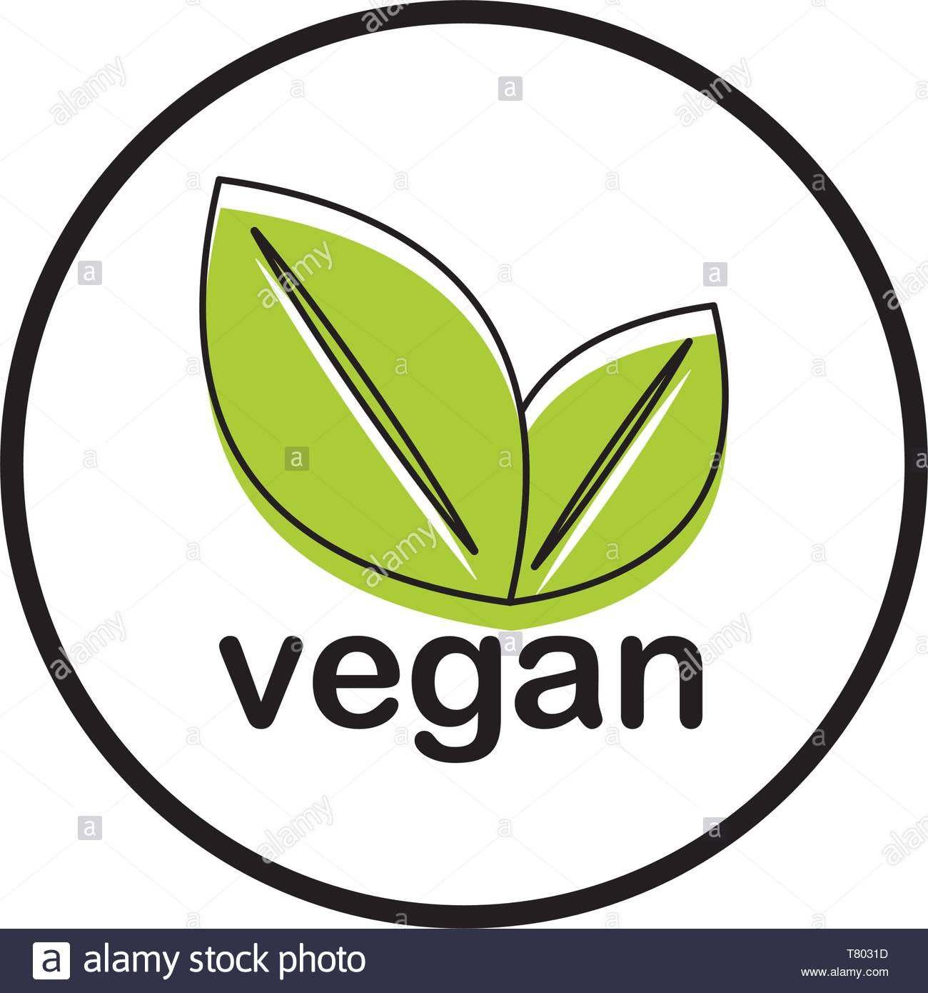 vegan food vector icon concept, isolated on white background