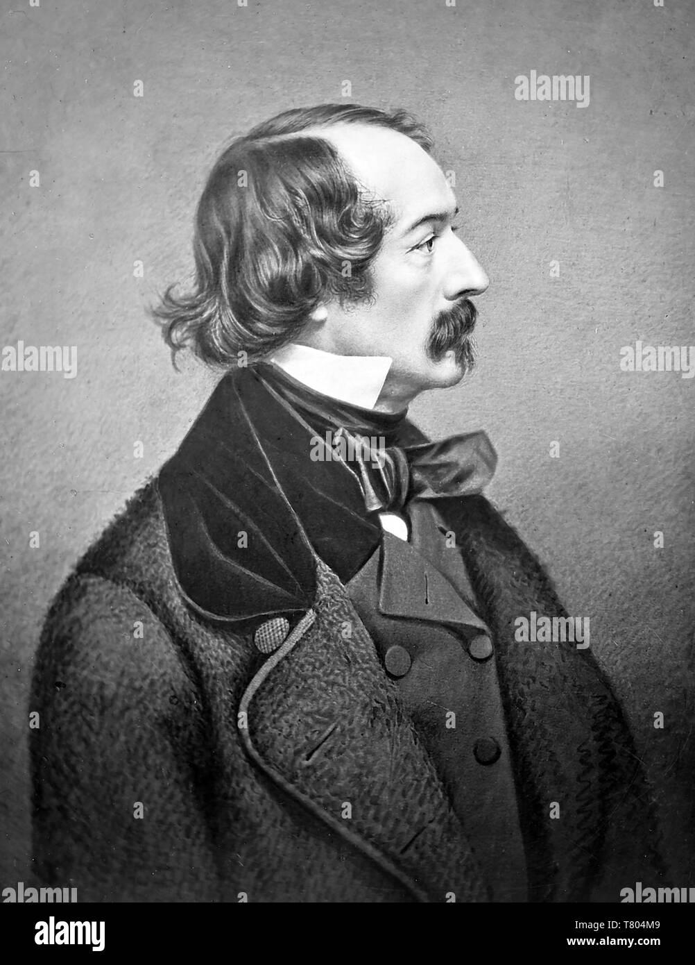 ELISHA KANE (1820-1857) American explorer and physician - Stock Image