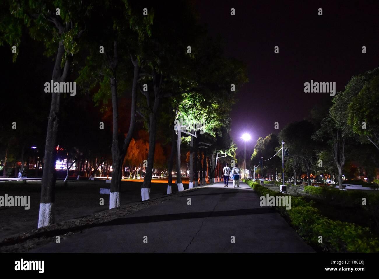 May 9, 2019 - Punjab, Punjab, India - Visitors are seen walking at a