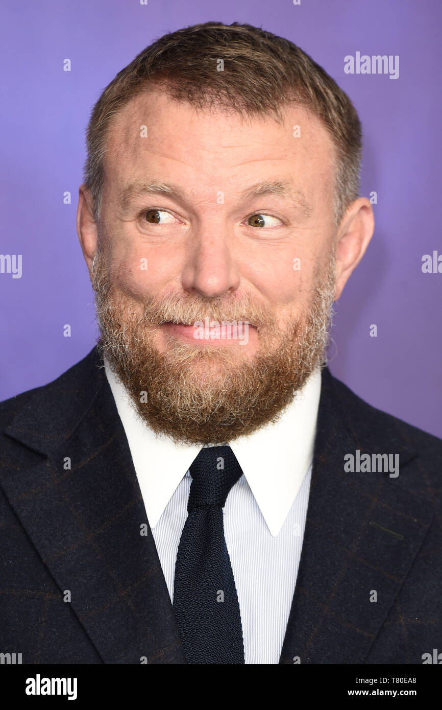 "London, UK. 09th May, 2019. LONDON, UK. May 09, 2019: Director Guy Ritchie at the ""Aladdin"" premiere at the Odeon Luxe, Leicester Square, London. Picture: Steve Vas/Featureflash Credit: Paul Smith/Alamy Live News Stock Photo"