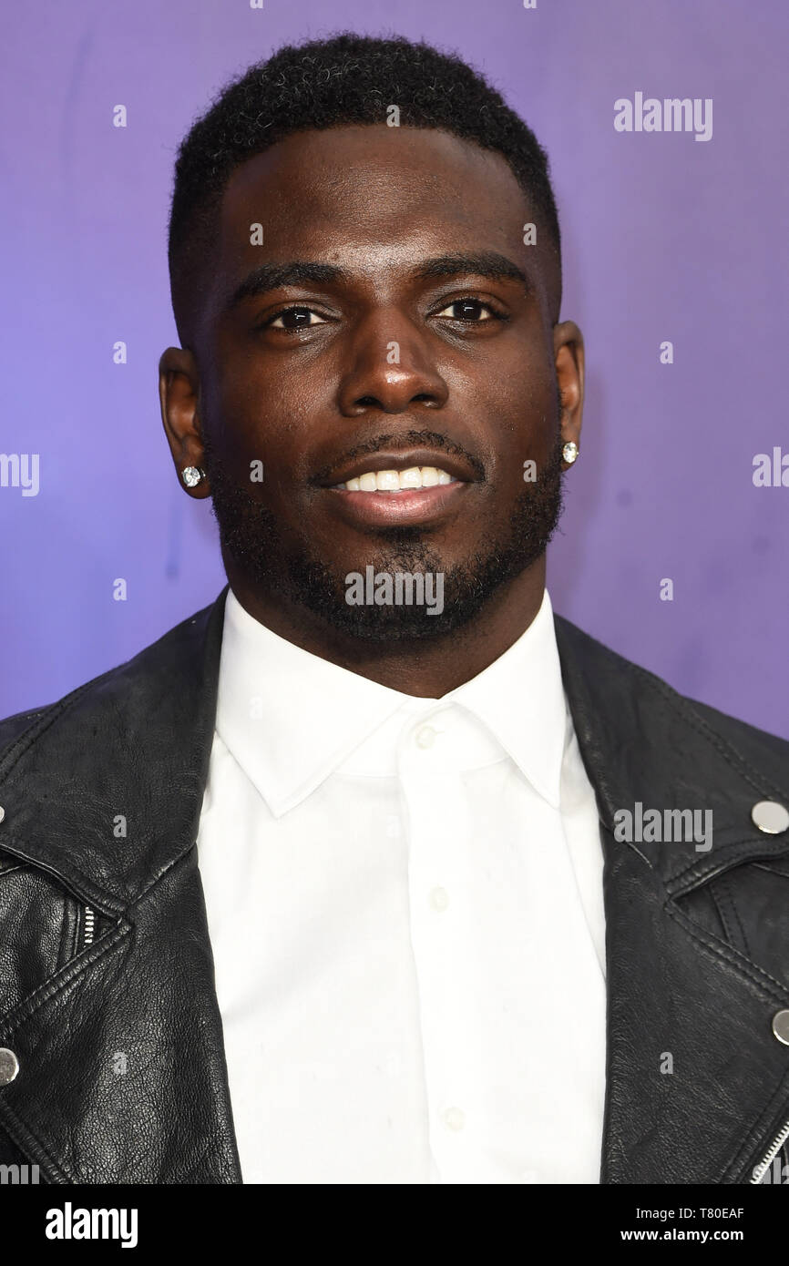 """London, UK. 09th May, 2019. LONDON, UK. May 09, 2019: Marcel Sommerville at the """"Aladdin"""" premiere at the Odeon Luxe, Leicester Square, London. Picture: Steve Vas/Featureflash Credit: Paul Smith/Alamy Live News Stock Photo"""