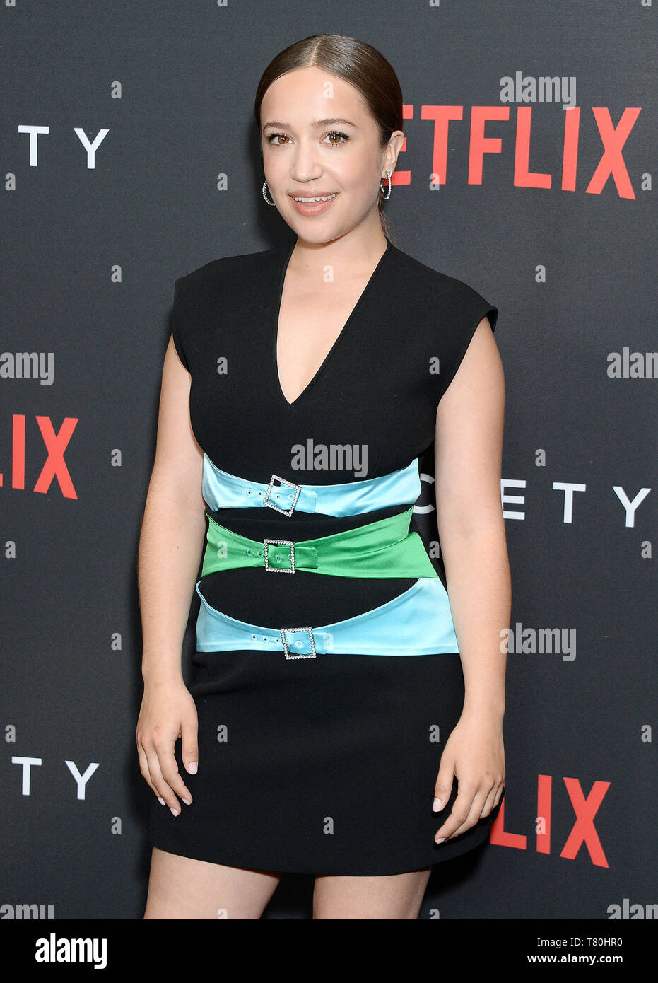 Los Angeles, California, USA. 09th May, 2019. Pictured: Gideon Adlon Netflix - The Society Season 1 Premiere - Arrivals 5/9/19, Los Angeles, California, United States of America Credit: Broadimage Entertainment/Alamy Live News - Stock Image