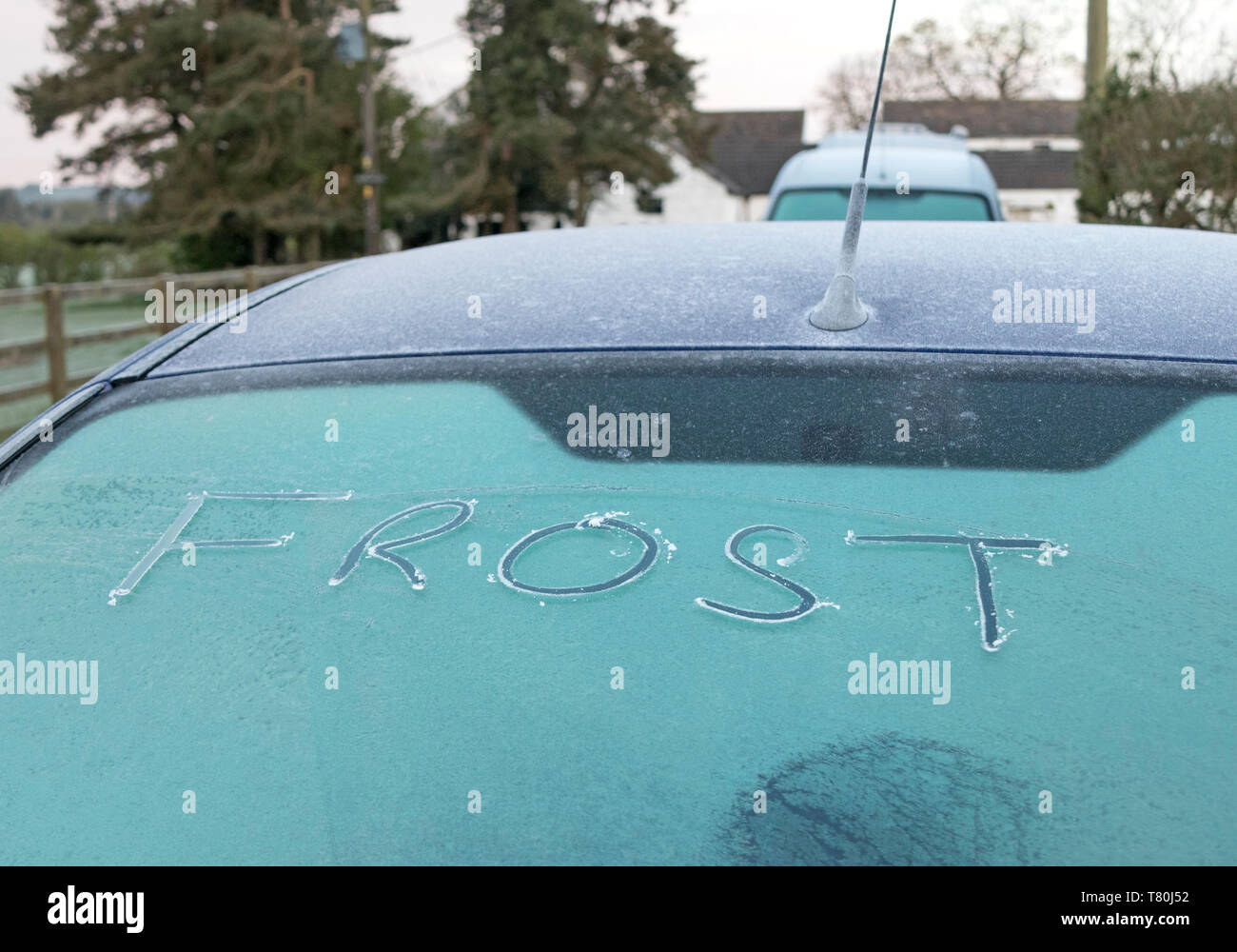 Car Frost Commute Stock Photos Amp Car Frost Commute Stock