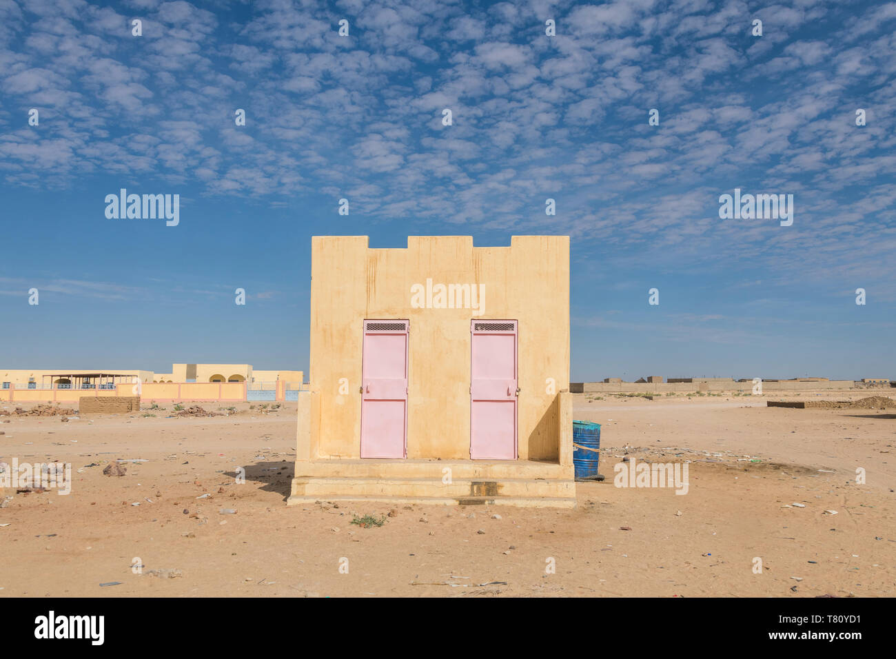 Tradtional house, Sahel, Chad, Africa - Stock Image