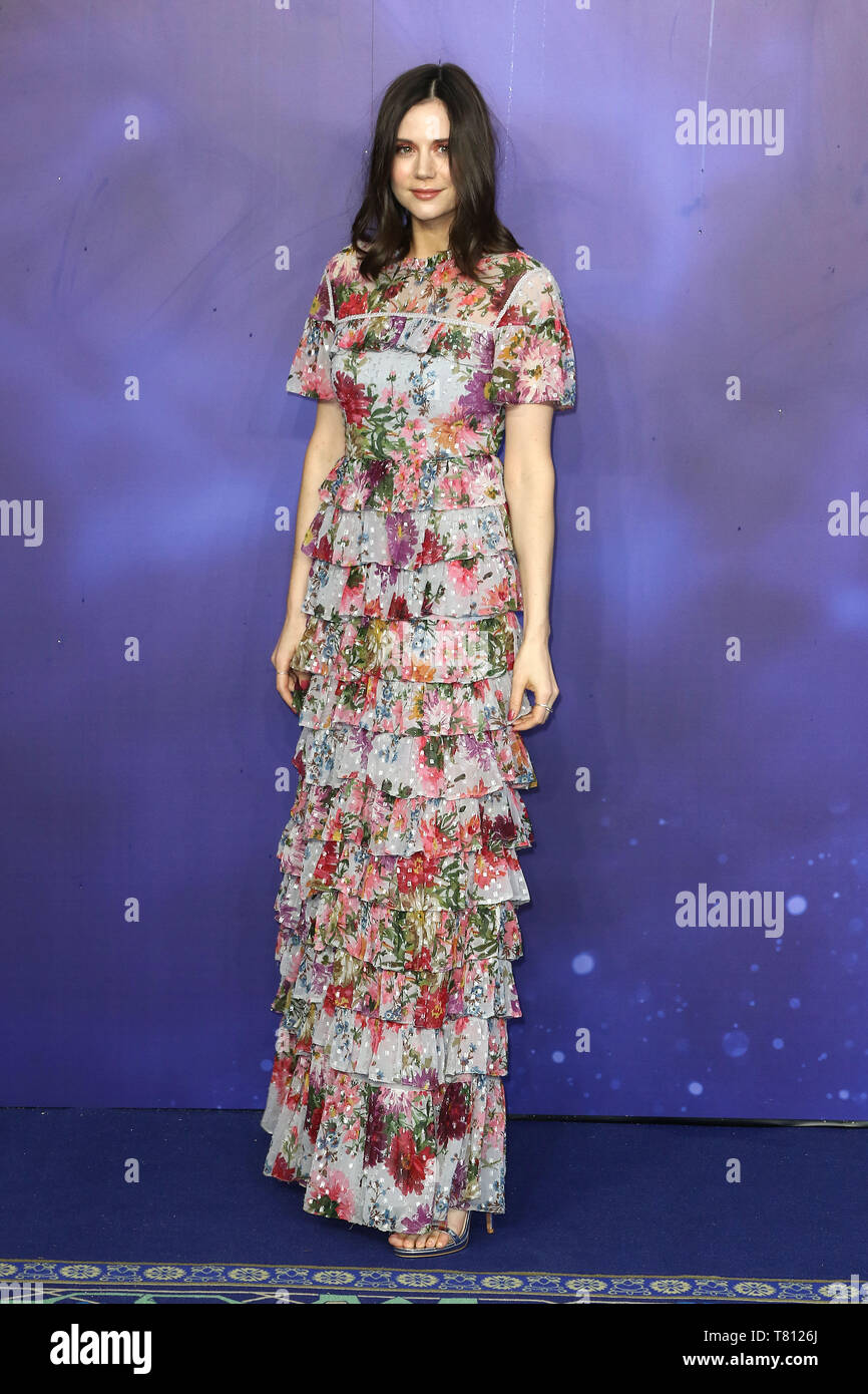 Lilah Parsons, Aladdin - European Gala, Leicester Square, London, UK, 09 May 2019, Photo by Richard Goldschmidt - Stock Image