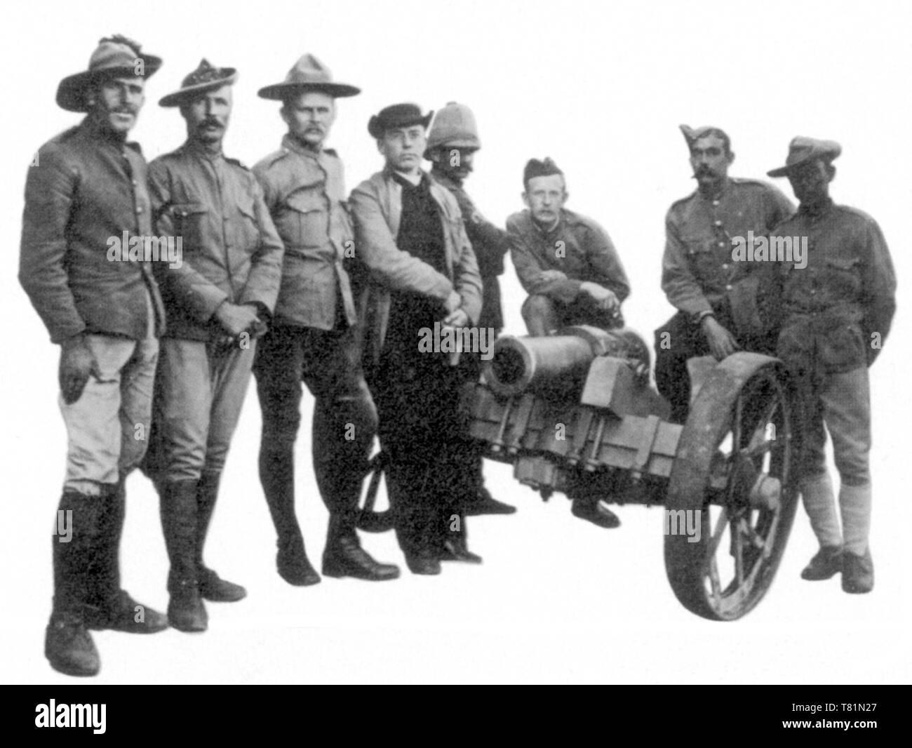 Boer War, Mafeking - Stock Image