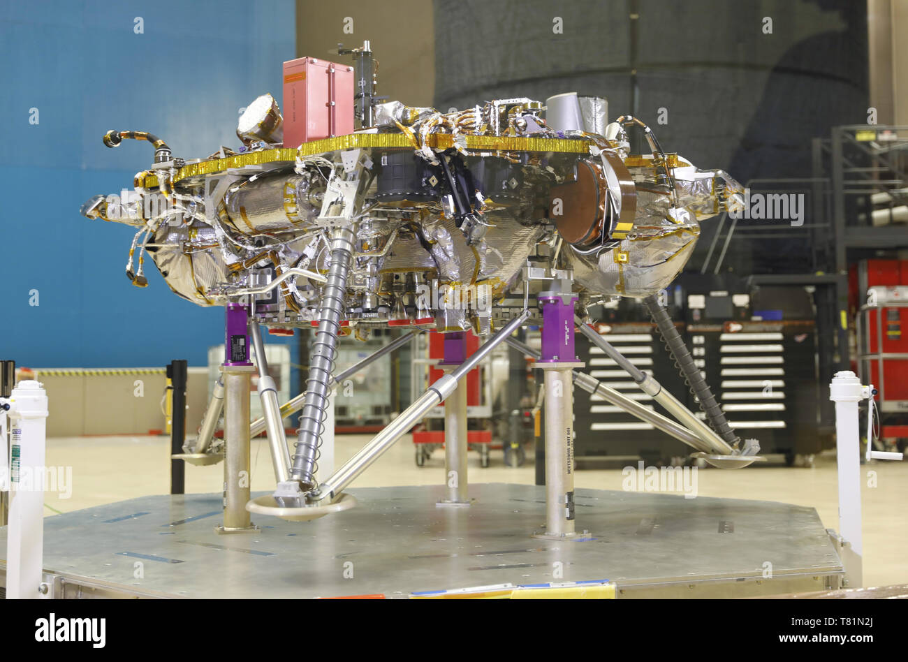 Insight Mars Lander - Stock Image